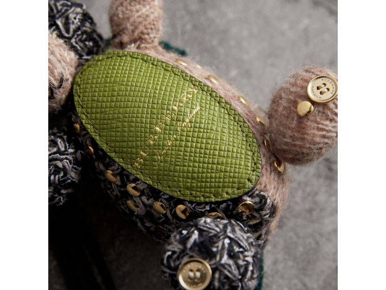 Mabel The Donkey Wool Charm in Sand Multicolour | Burberry - cell image 1