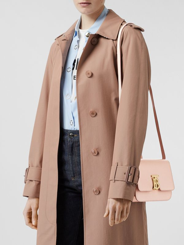 Small Leather TB Bag in Rose Beige - Women | Burberry - cell image 2