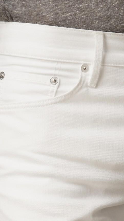 New white Slim Fit White Jeans - Image 3
