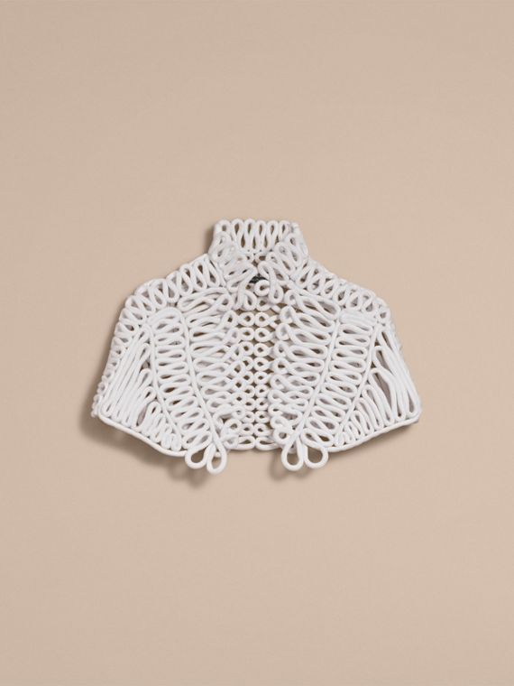 Hand-looped Rope Capelet - Women | Burberry - cell image 3