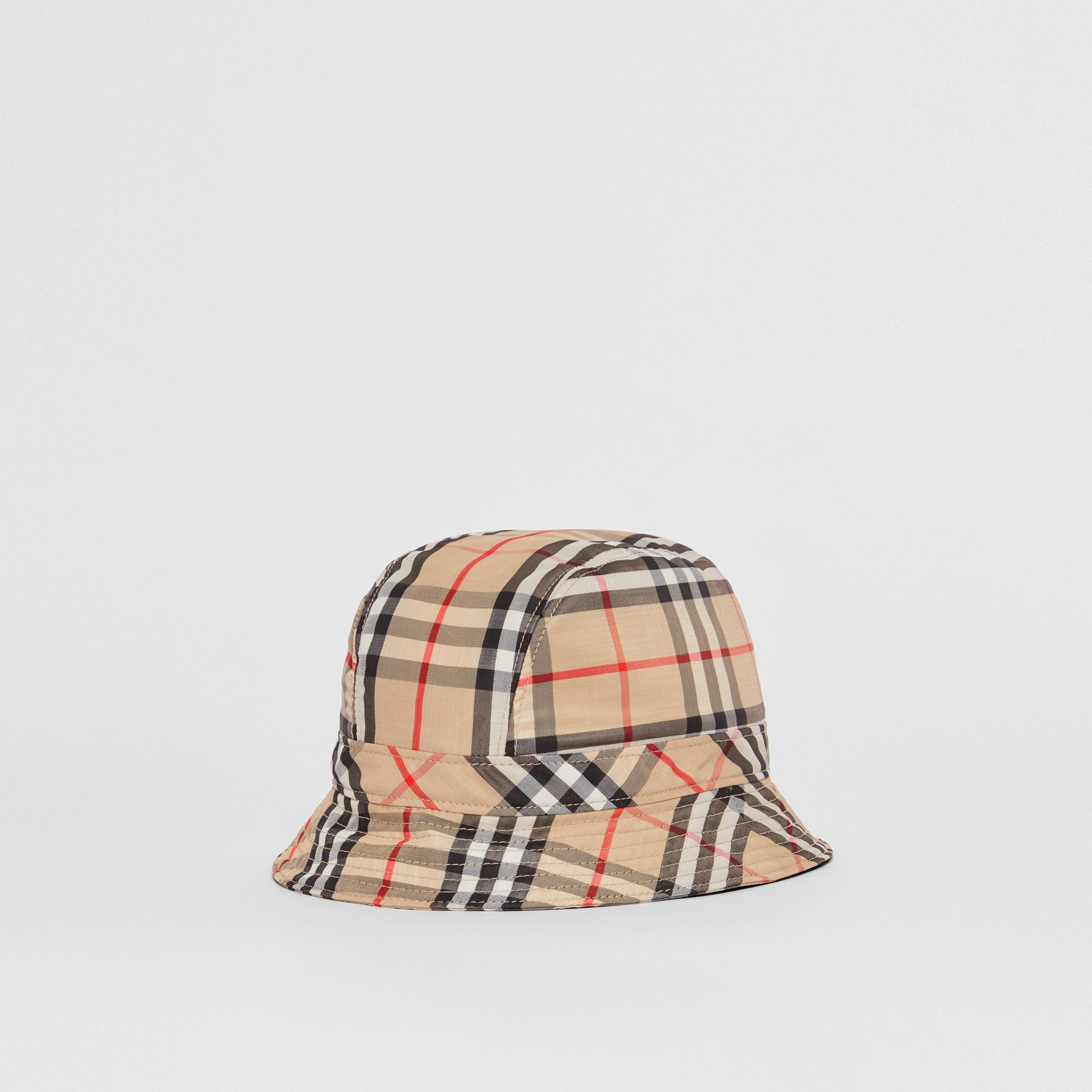 Vintage Check Bucket Hat in Archive Beige | Burberry Australia - gallery image 0