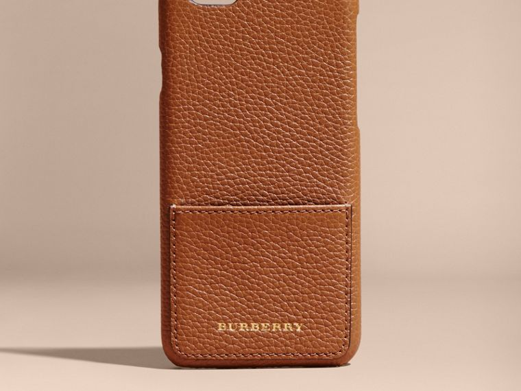 Tan Grainy Leather iPhone 6 Case - cell image 4