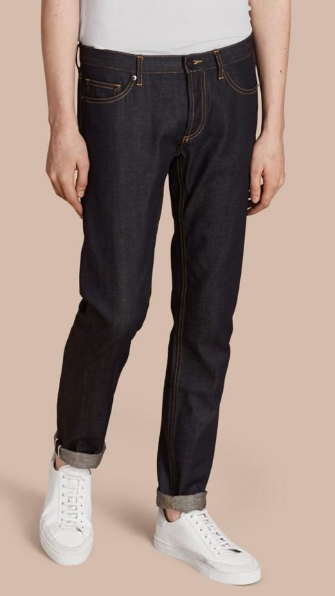Indigo Jean skinny indigo Selvedge - Image 1