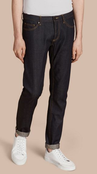 Jean skinny indigo Selvedge