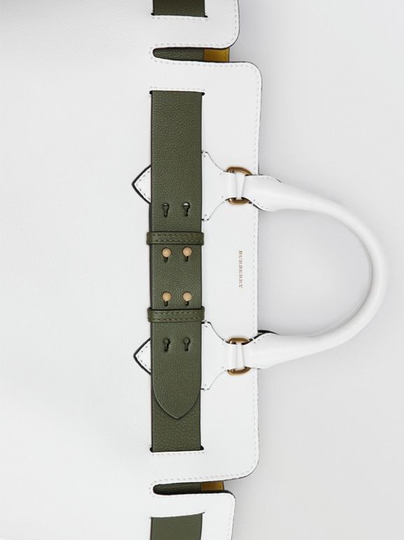 Sac The Belt moyen en cuir (Blanc Craie) - Femme | Burberry - cell image 1