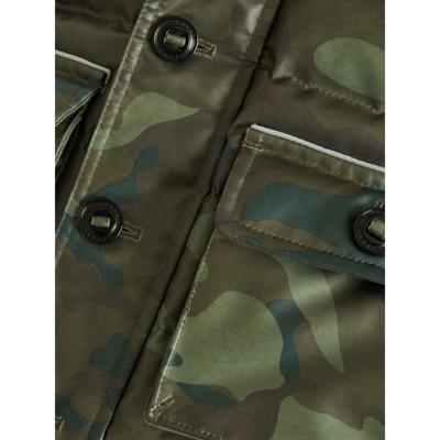 Camouflage Camouflage Imprimé Enfant Doudoune kaki À Rembourrée Rembourrée Burberry AqxtwBPt