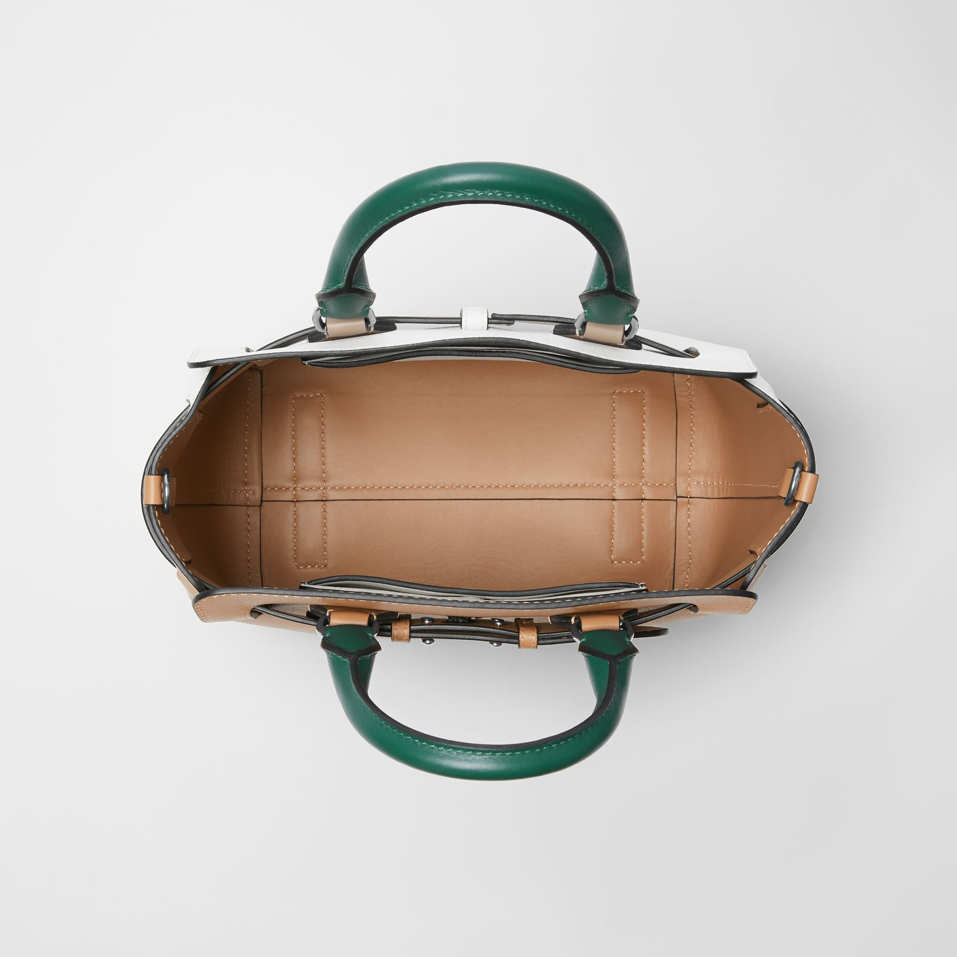 Petit sac The Belt en cuir tricolore (Camel Clair) - Femme | Burberry - photo de la galerie 4