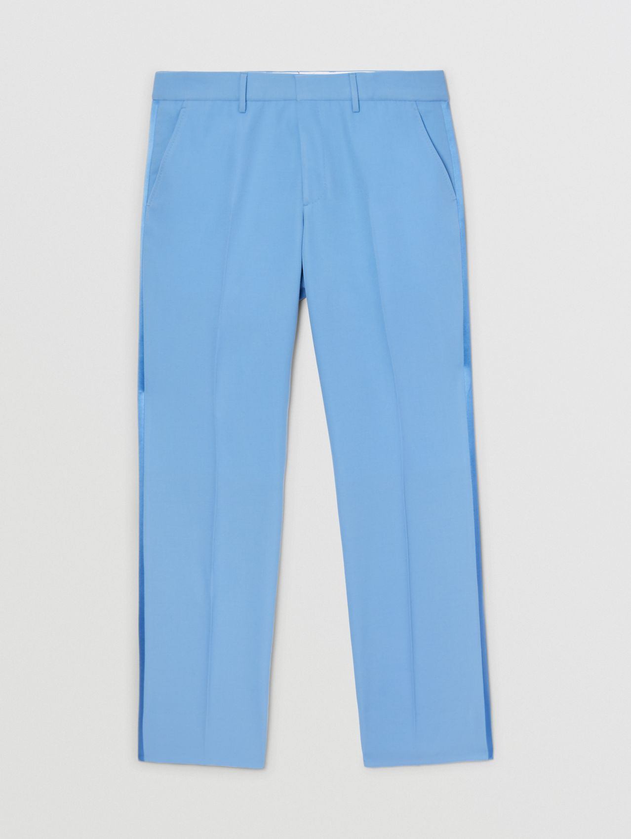 Classic Fit Wool Tailored Trousers in Vivid Cobalt
