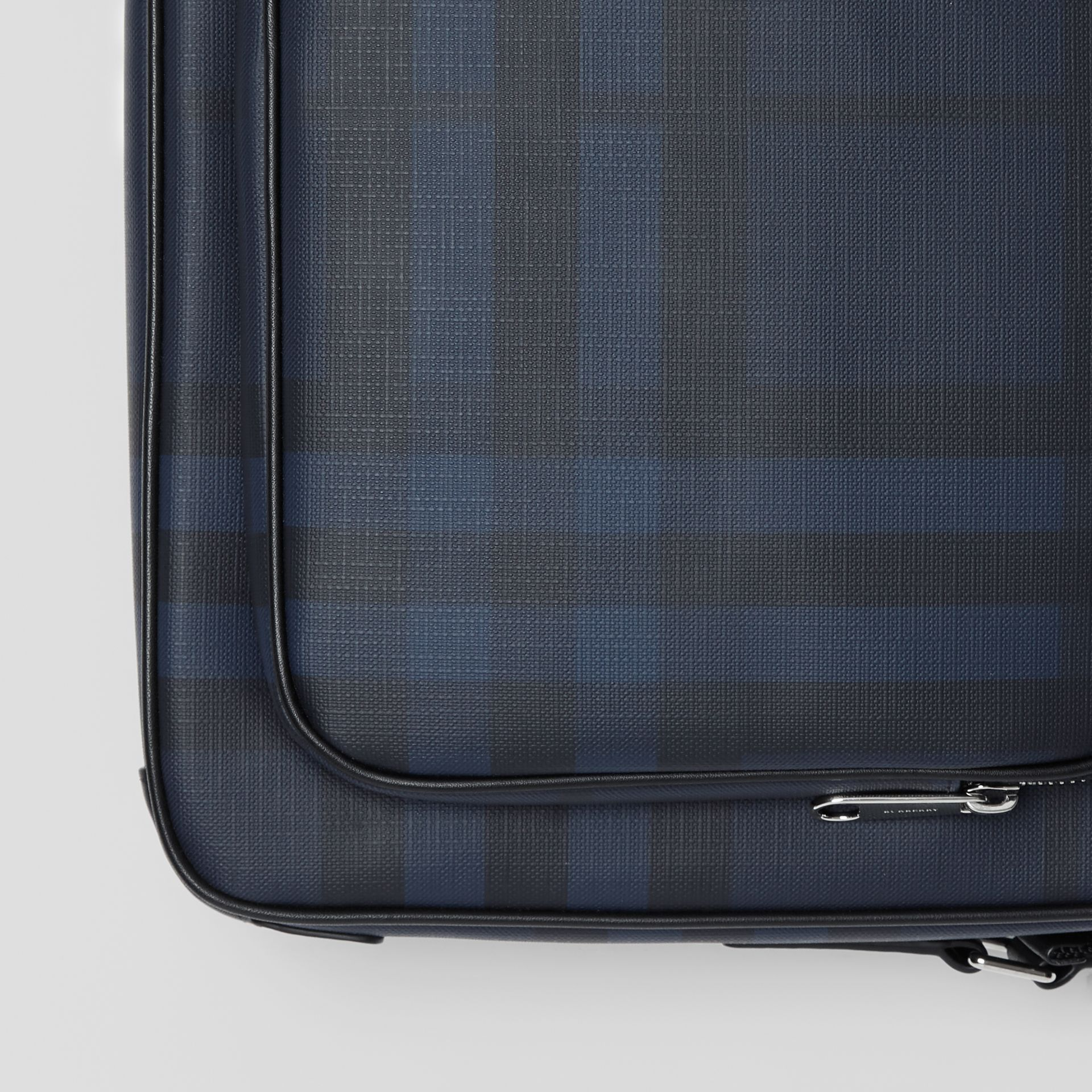 London Check Messenger Bag in Navy/black - Men | Burberry Hong Kong - gallery image 1