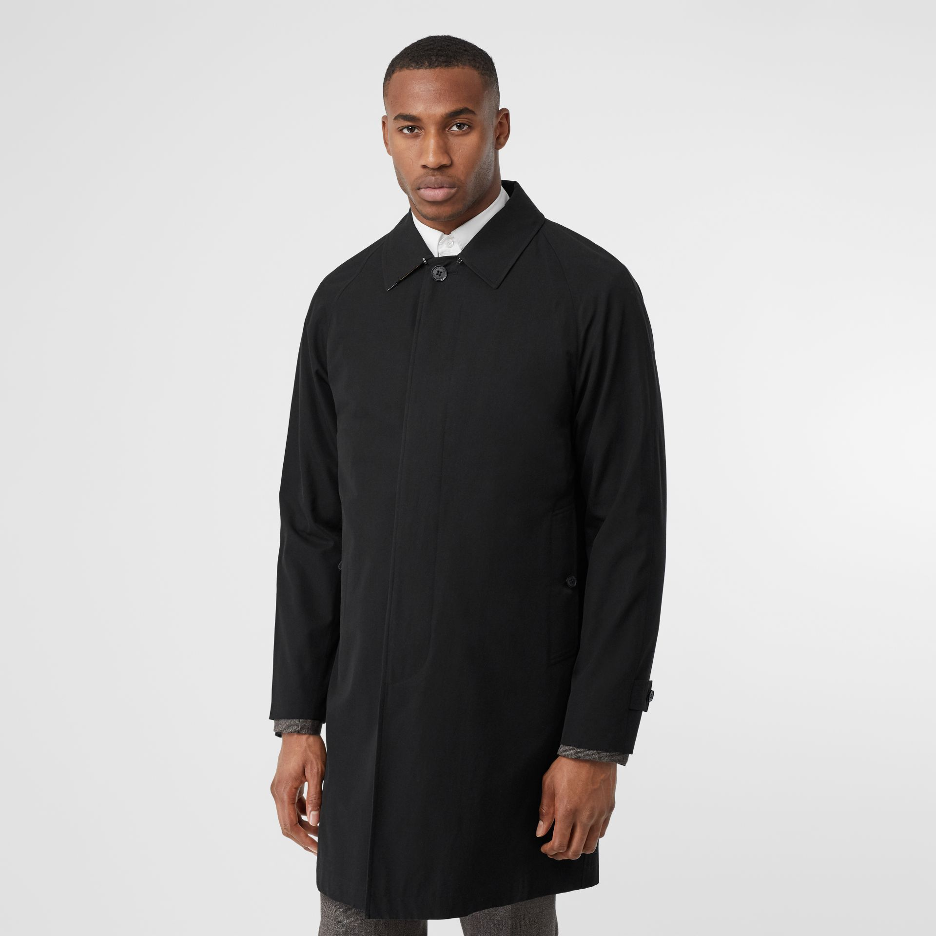 The Camden Car Coat in Black - Men | Burberry Canada - gallery image 0