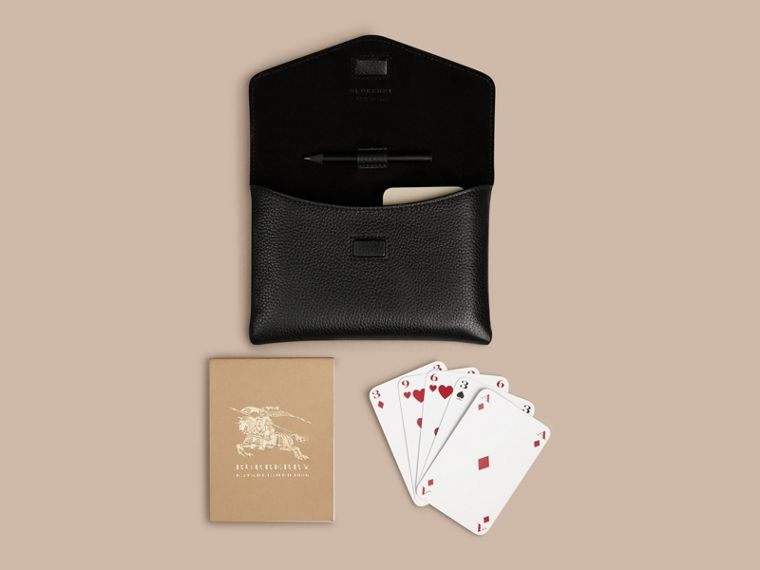 Bridge Game Set in Black | Burberry - cell image 4