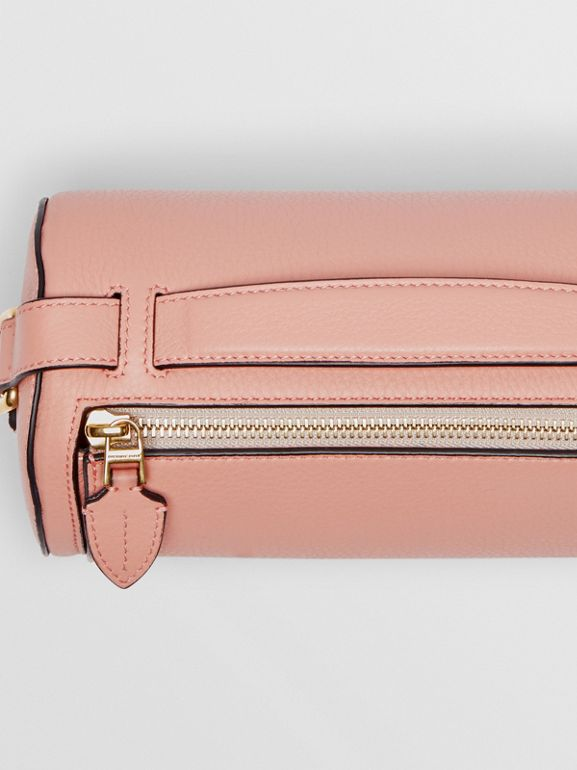 The Leather Barrel Bag in Ash Rose - Women | Burberry Australia - cell image 1