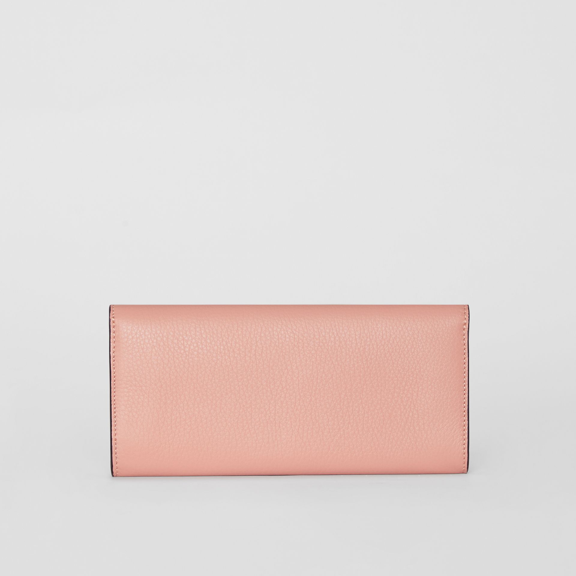 Leather Continental Wallet in Ash Rose - Women | Burberry - gallery image 5