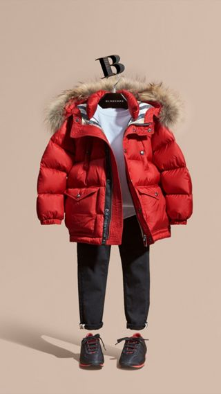 Lightweight Down-filled Coat