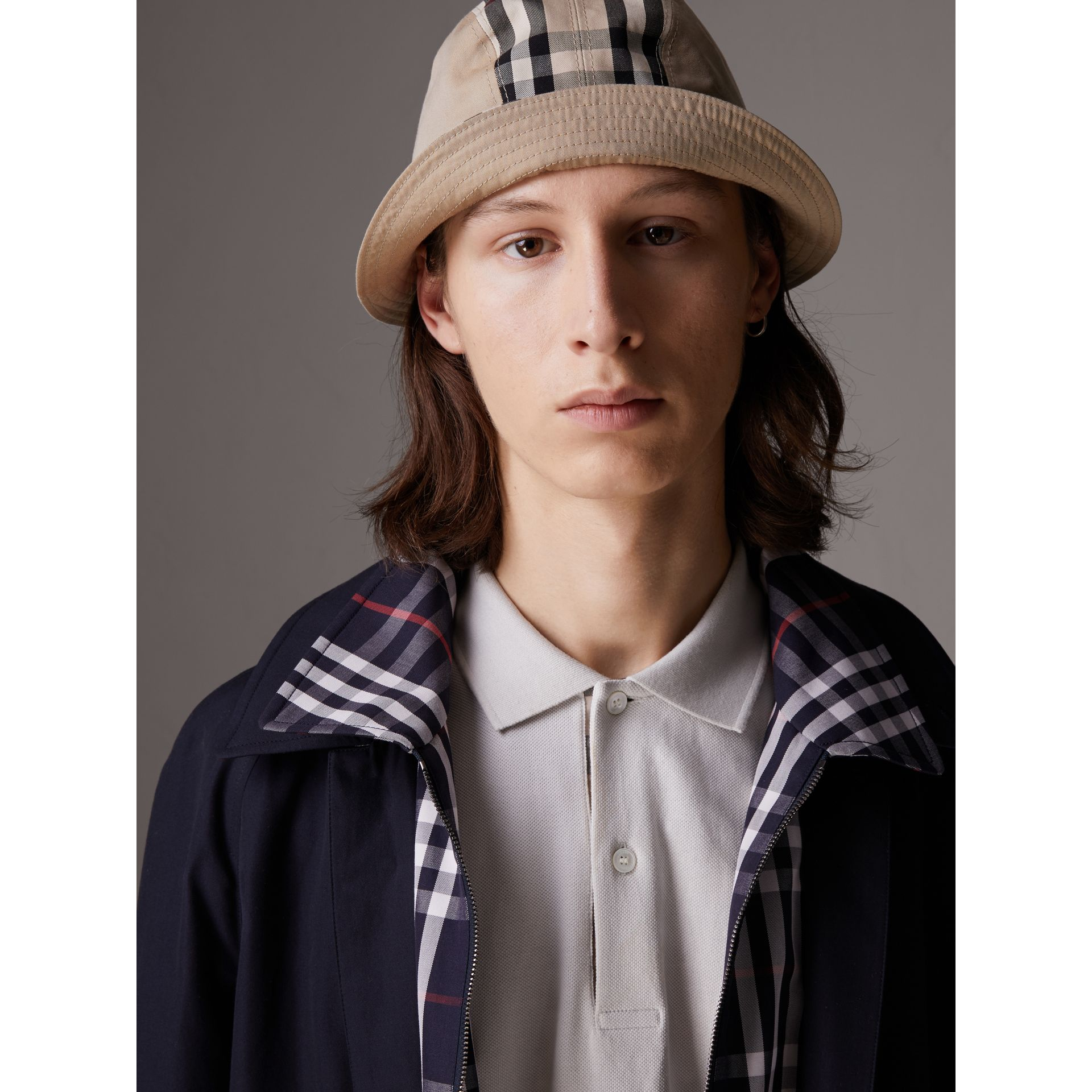Gosha x Burberry Bucket Hat in Honey | Burberry - gallery image 7