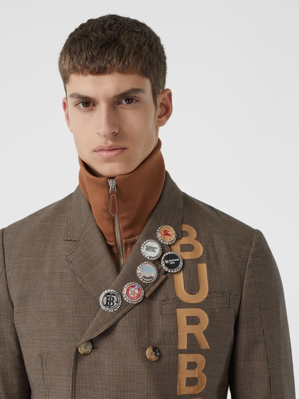 Palladium-plated Bottle Cap Brooch in Palladio | Burberry Hong Kong S.A.R - cell image 3