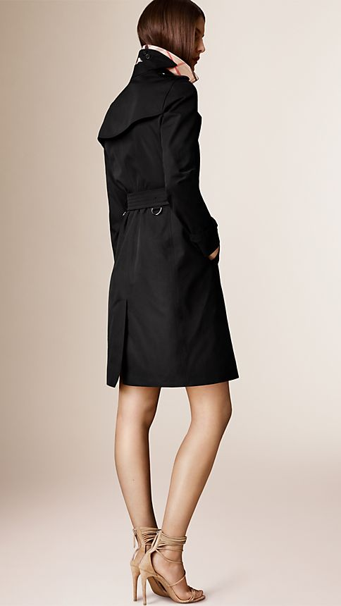 Honey The Kensington - Long Heritage Trench Coat - Image 2