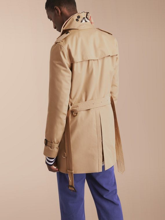 The Kensington – Mid-Length Heritage Trench Coat Honey - cell image 2