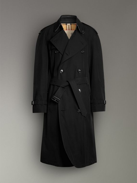 The Westminster Heritage Trench Coat in Black - Men | Burberry Hong Kong - cell image 3