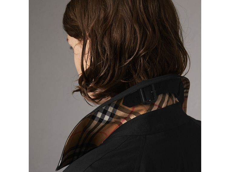 The Camden – Long Car Coat in Black - Women | Burberry United States - cell image 1