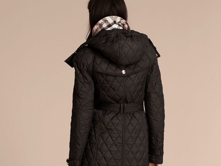 Black Diamond Quilted Showerproof Parka - cell image 1