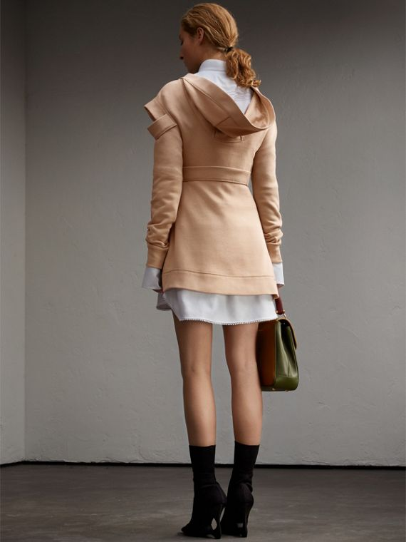 Cut-out Sweatshirt Dress - cell image 2
