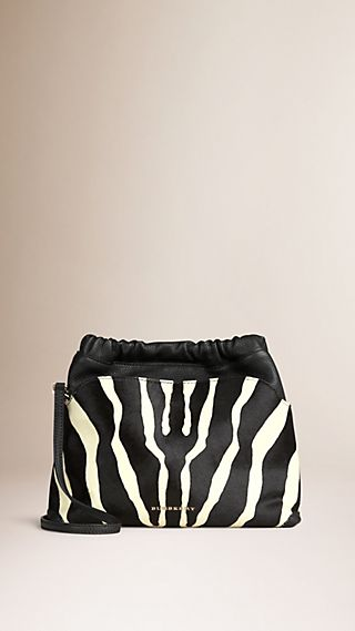 The Little Crush Animal Print Calfskin
