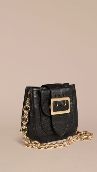 The Buckle Bag – Square in Alligator Limited Edition