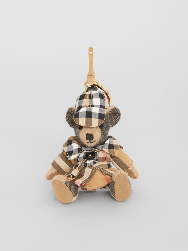 Adorno do Thomas Bear com trench coat em Vintage Check (Camel) | Burberry - cell image 2