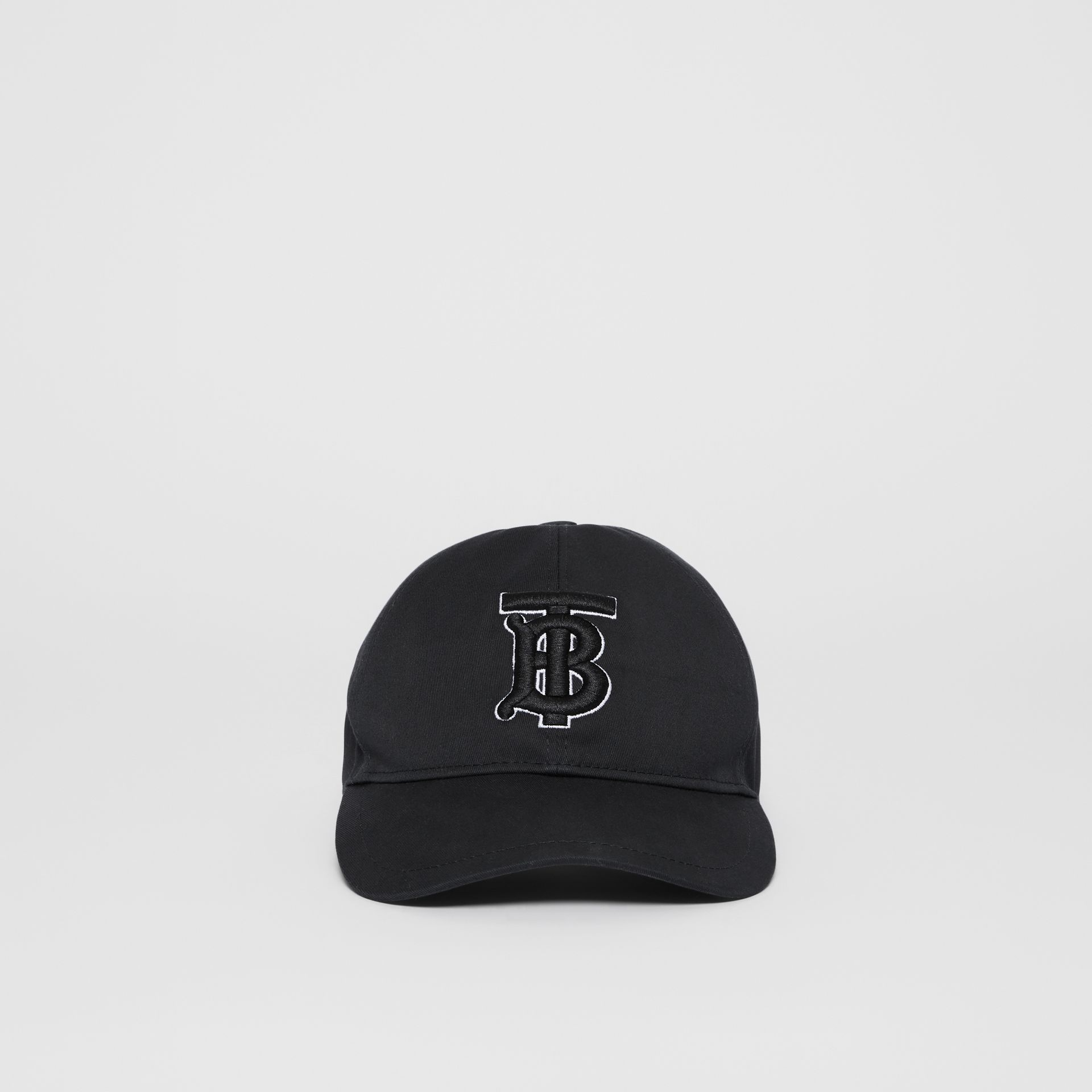 Casquette de baseball Monogram (Noir/noir) | Burberry Canada - photo de la galerie 2
