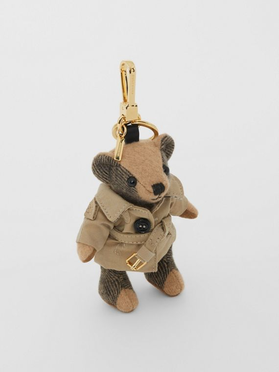 Adorno do Thomas Bear com trench coat (Camel)