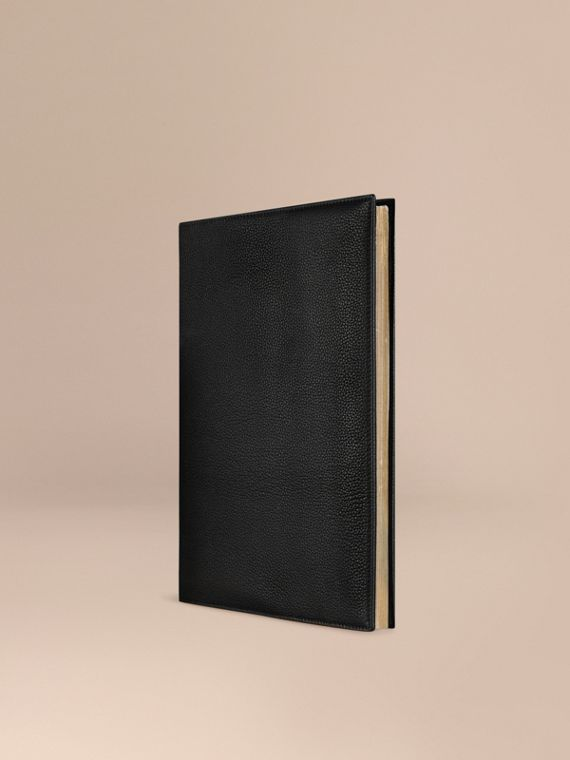 Grainy Leather A4 Notebook