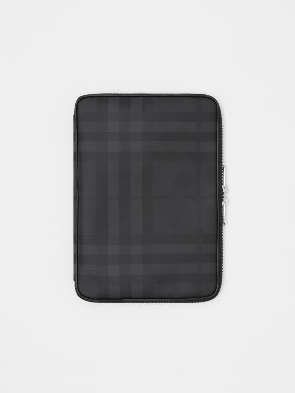 London Check Digital Case in Dark Charcoal - Men | Burberry - cell image 2