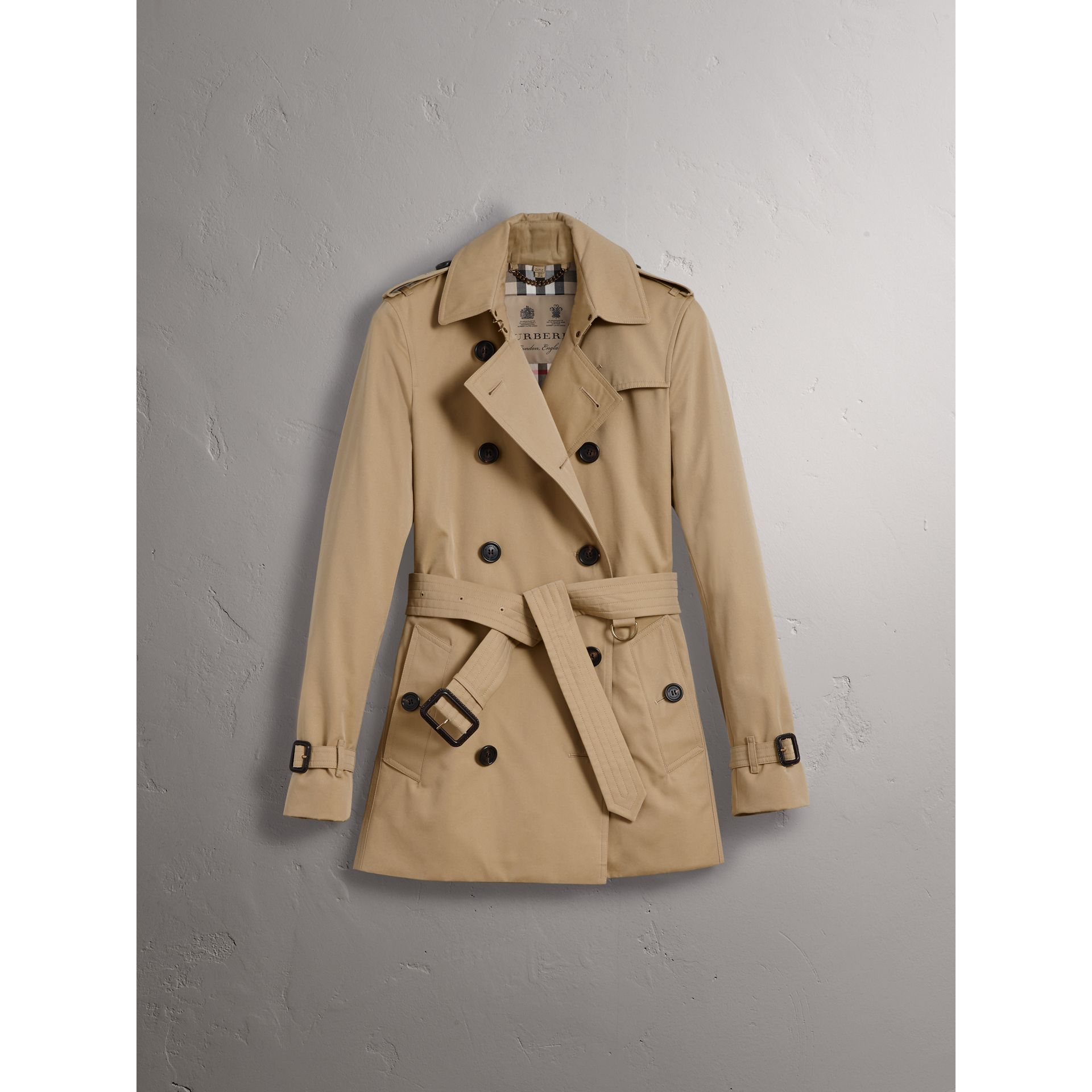 The Kensington – Trench court (Miel) - Femme | Burberry - photo de la galerie 3