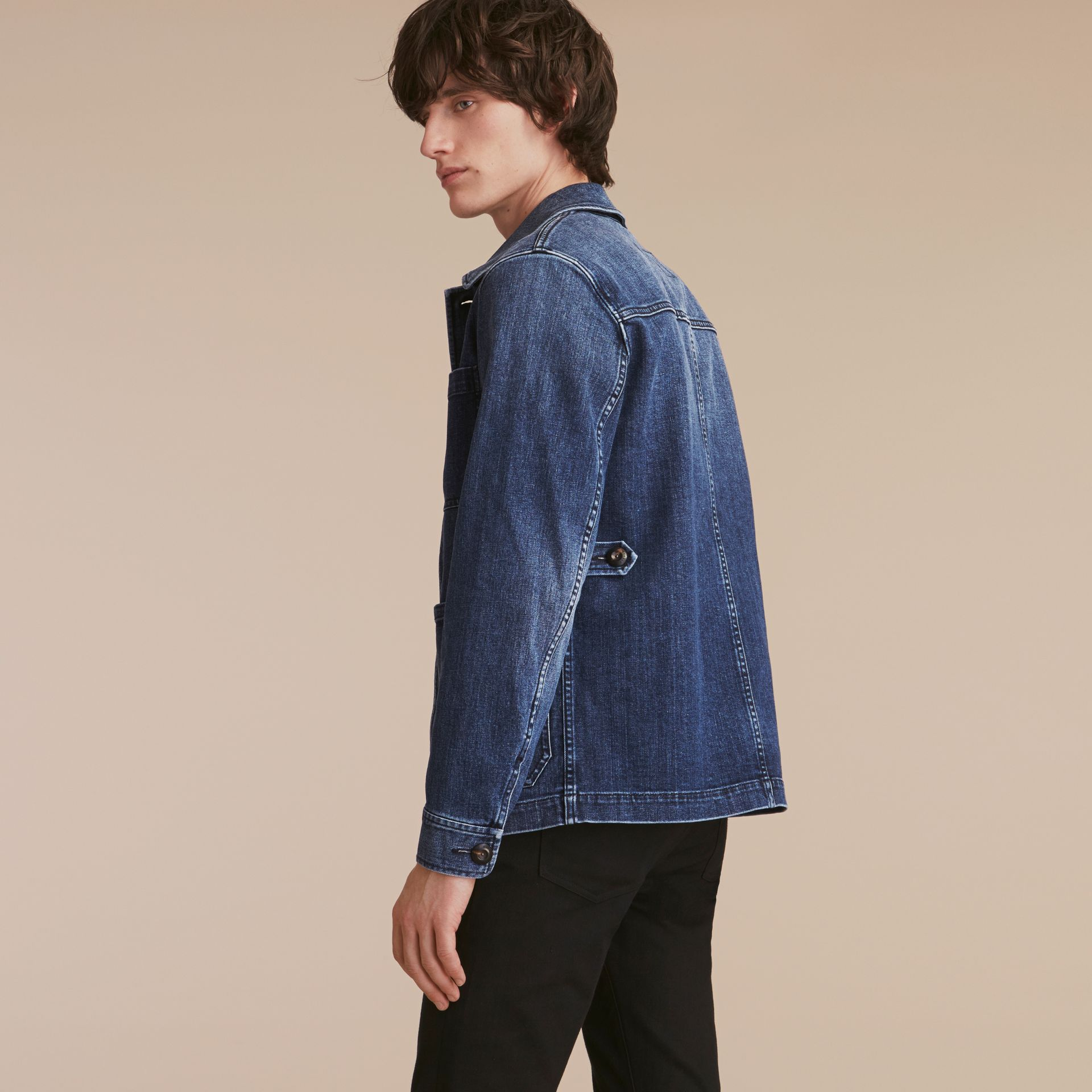 Denim Workwear Jacket - gallery image 3