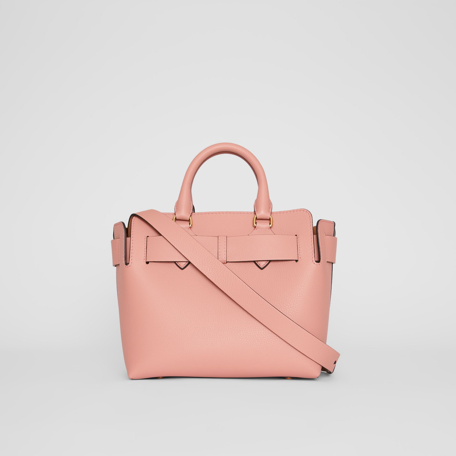 The Small Leather Belt Bag in Ash Rose - Women | Burberry Canada - gallery image 7