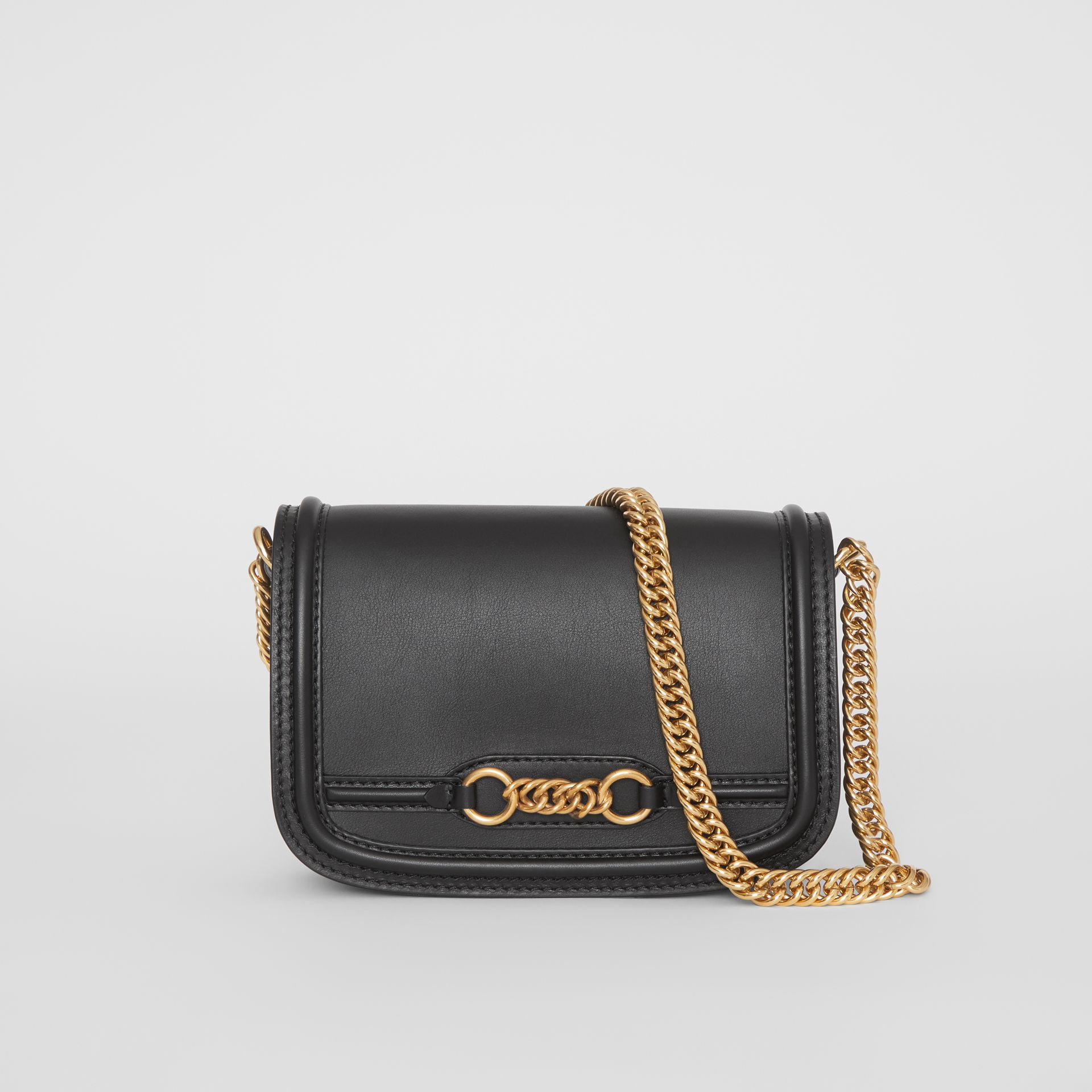 Sac The Link en cuir (Noir) - Femme | Burberry Canada - photo de la galerie 0