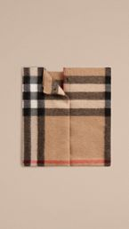 Exploded Check Cashmere Snood