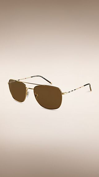 Heritage Collection Square Frame Polarised Sunglasses