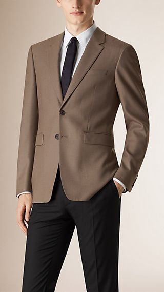 Modern Fit Travel Tailoring Wool Jacket