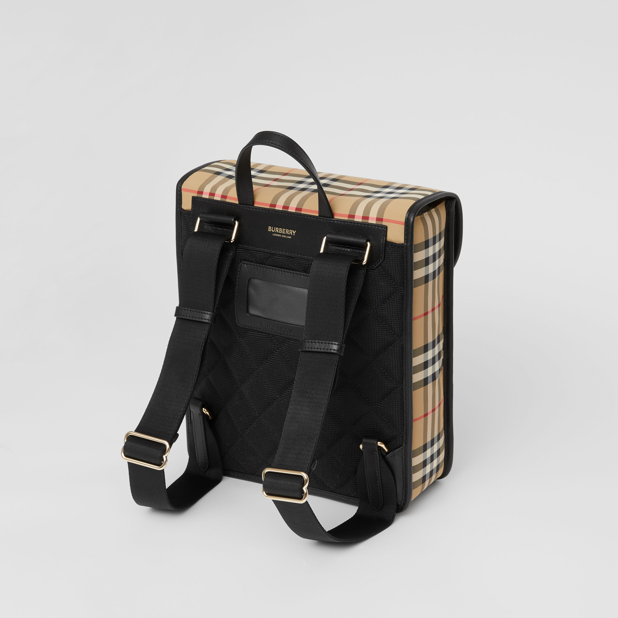 Vintage Check ECONYL® Satchel in Archive Beige - Children | Burberry United Kingdom - 3