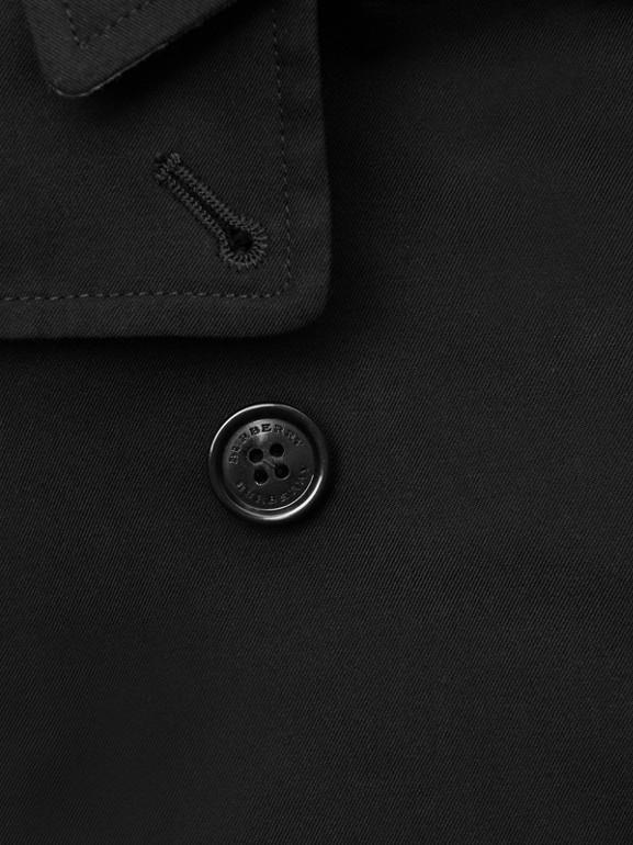 Cotton Gabardine Trench Coat in Black - Children | Burberry - cell image 1
