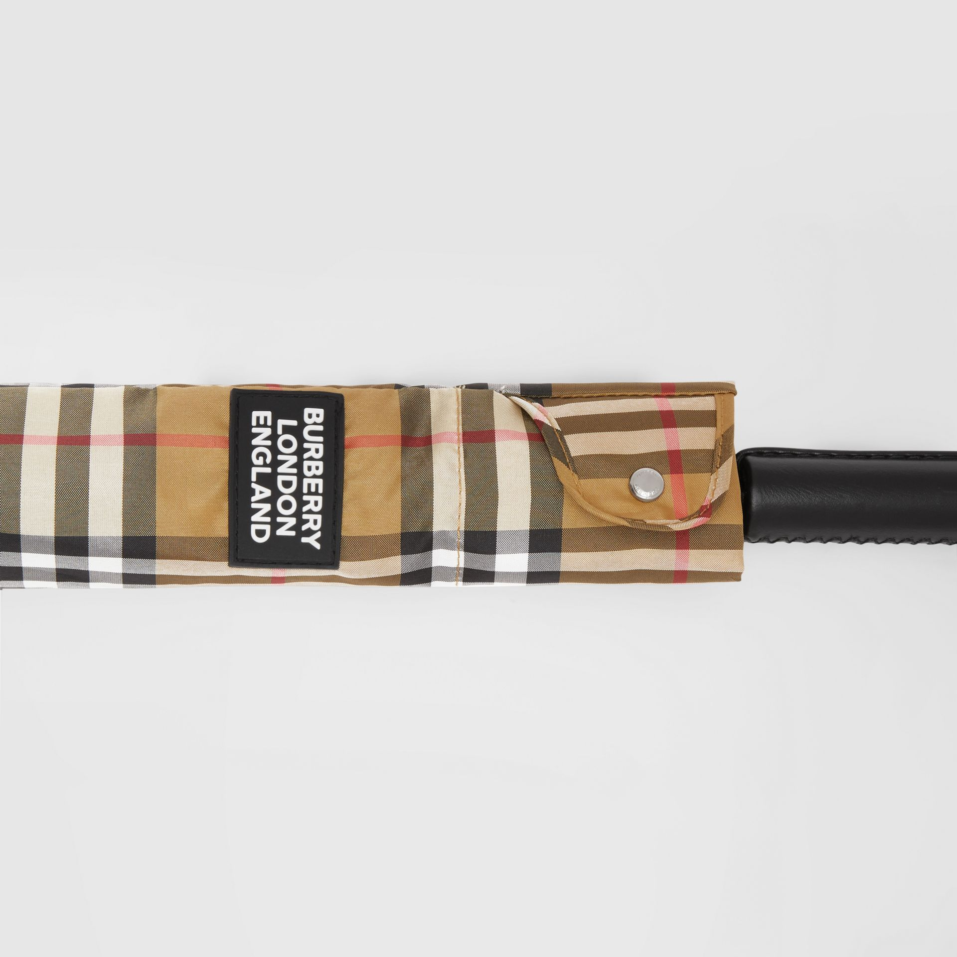 Vintage Check Umbrella in Archive Beige | Burberry Hong Kong S.A.R - gallery image 5
