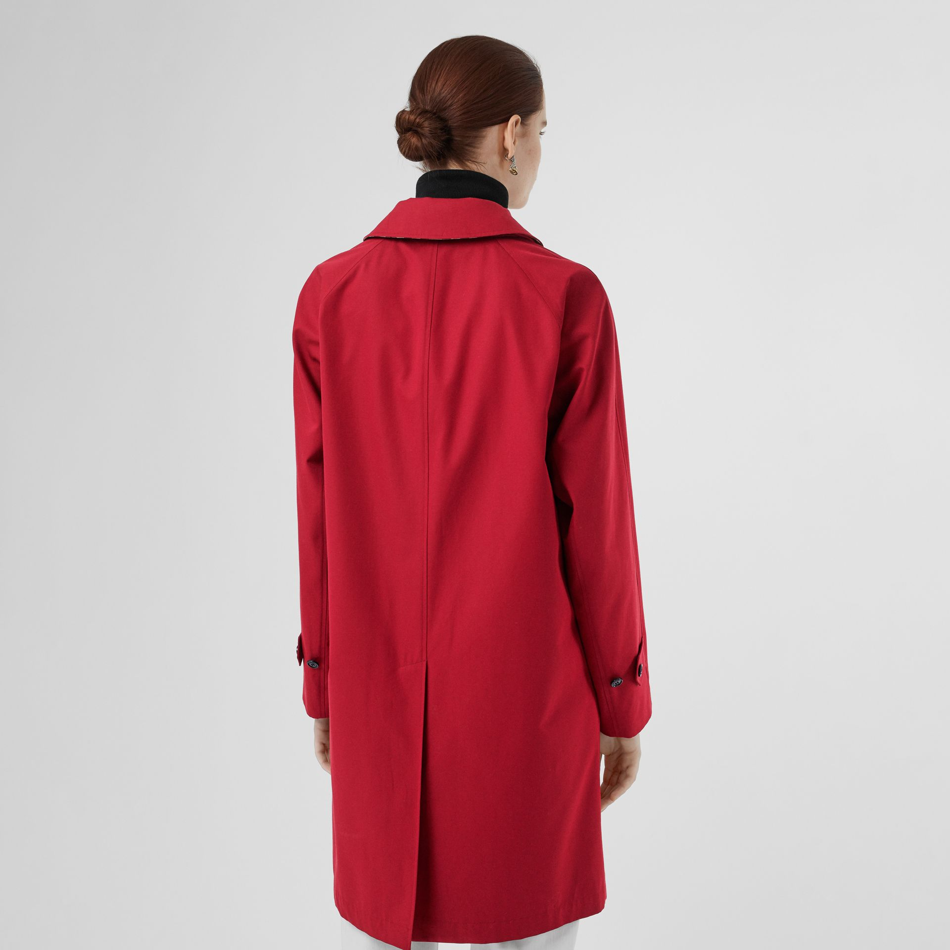 The Camden Car Coat in Parade Red - Women | Burberry - gallery image 2