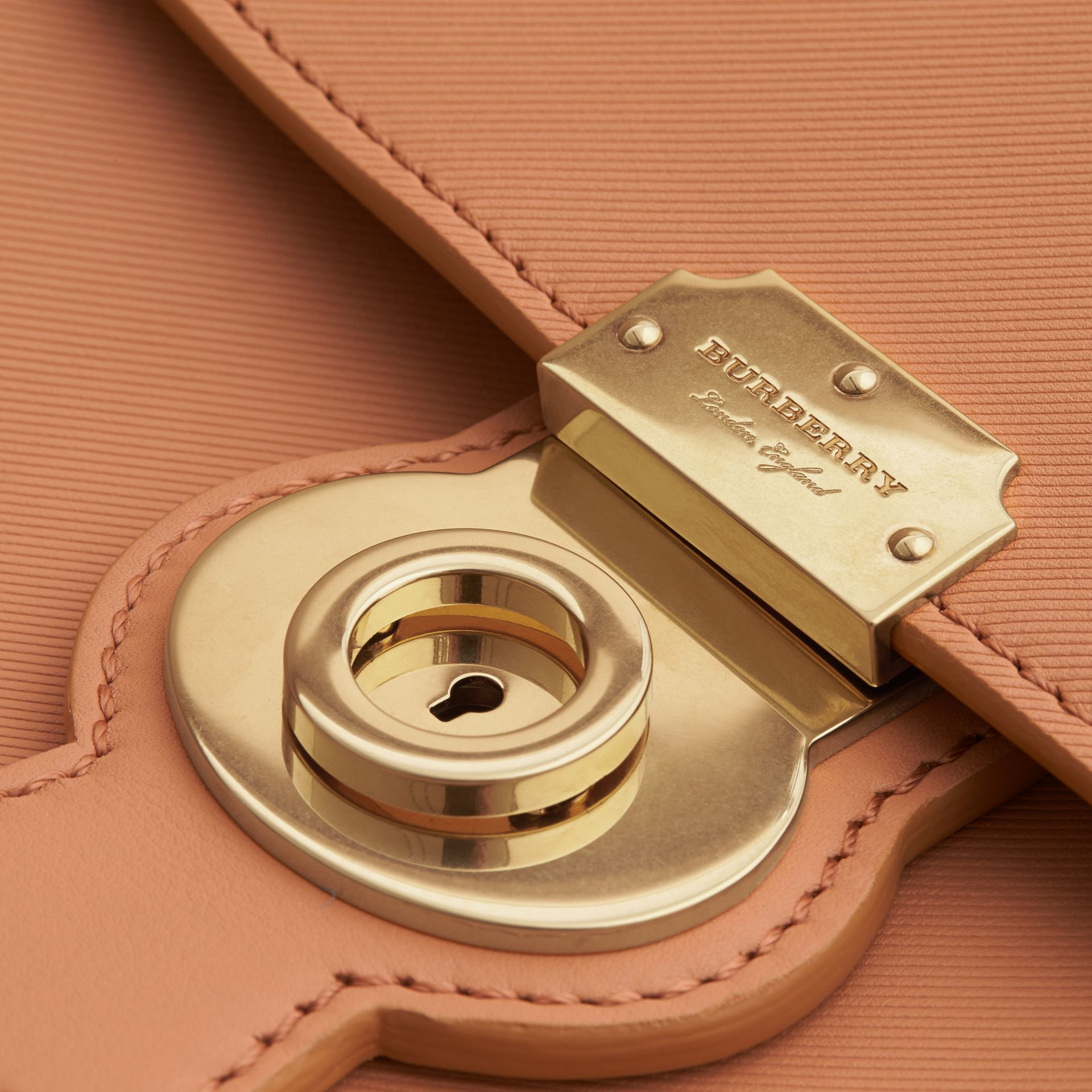 The Large DK88 Top Handle Bag Pale Clementine - gallery image 2