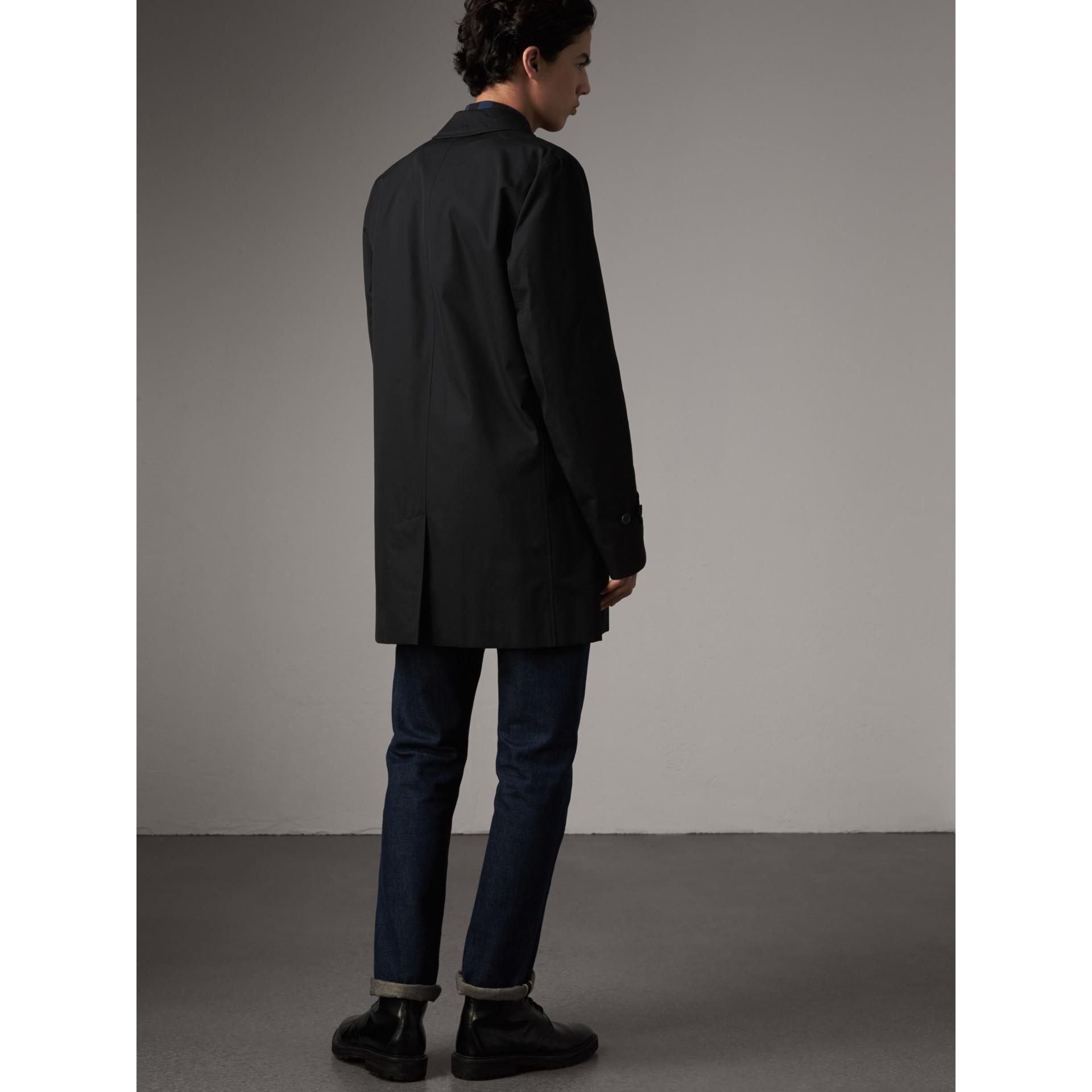 Kurzmantel aus Baumwollgabardine (Schwarz) - Herren | Burberry - Galerie-Bild 3