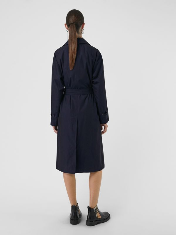 The Brighton Car Coat (Blu Carbonio) - Donna | Burberry - cell image 2