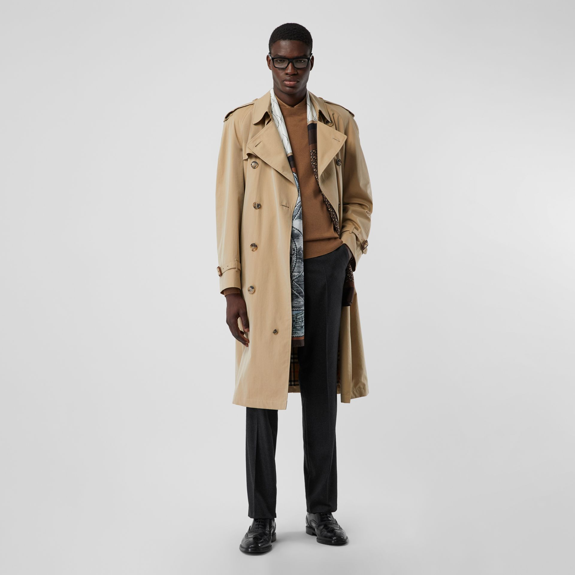 The Westminster Heritage Trench Coat in Honey - Men | Burberry - gallery image 2
