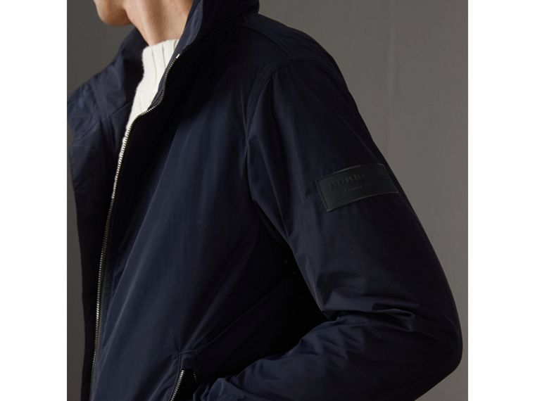 Veste imperméable à capuche repliable (Marine) - Homme | Burberry - cell image 1