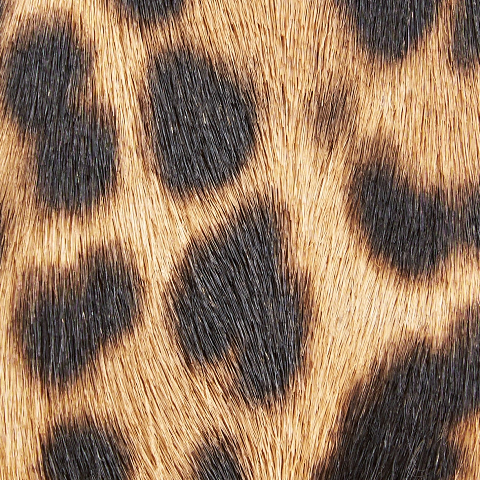 Camel The Medium Banner in Animal Print Calfskin - gallery image 2